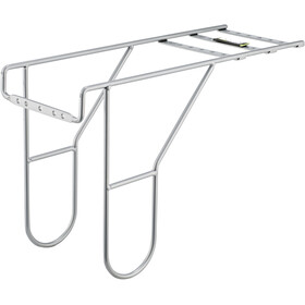 Basil Carrier Extender-Length Luggage Carrier Rack Extension silver